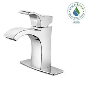 Pfister Venturi Single Hole Single-Handle Bathroom Faucet in Polished Chrome