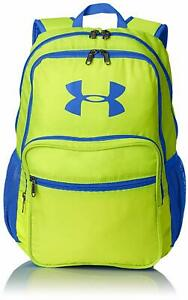 New Boys Under Armour Storm Hall of Fame Backpack Blue Green UA 1256655 733