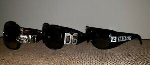 🕶 Lot of Three Designer Sunglasses: Gucci Dolce & Gabbana Fendi