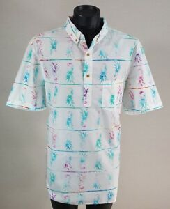 1b277ab15 NEW Chubbies Nutter Hawaiian Shirt Men's Size XXL 2XL Pineapple Print  Pullover