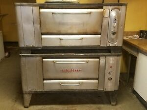 Blodgett 1000 Gas Stone Deck Pizza Oven - Baking Bread Ovens