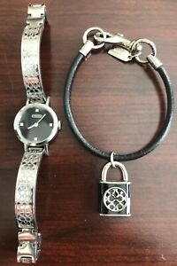 Coach Watch And Bracelet Set
