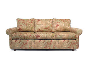 Made in USA Premium Quality Bahamian Hardwood Sofa Couch Tropical Design