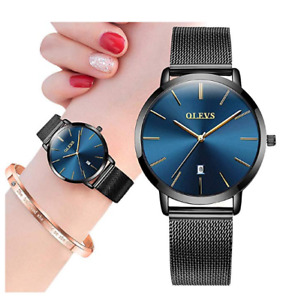 Watches for Women with Bracelet SetLadies Classic Casual Thin Wrist Watches