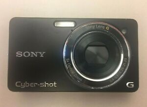 Sony Cyber-shot DSC-WX1 10.2 MP Digital Camera - Black + Extra Battery and Case