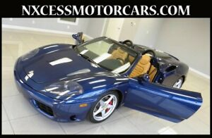 2003 360 SPIDER ONLY 4K MILES TIMING BELT BEEN DONE! 2003 Ferrari 360 SPIDER ONLY 4K MILES TIMING BELT BEEN DONE!