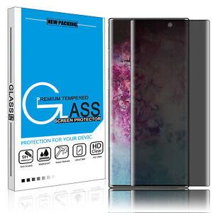 Privacy Tempered Glass Screen Protector for Samsung Galaxy Note 10S10 PlusS10
