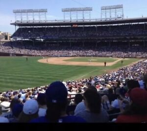 Chicago Cubs vs. White Sox Wed 619 Sec 203 Row 9 Seats 6 & 7 7:05 PM