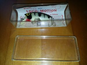 VINTAGE POE'S LOCO-MOTION IN ORIGINAL BOX WITH PAPER INSERT