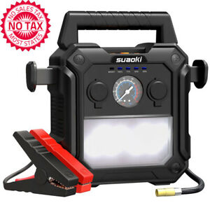 2000A Peak Portable Car Jump Starter (up To 10.0L Gas Or 8.0L Diesel Engines)