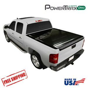 PowertraxPRO Electric Retractable Bed Cover Fits 07-13 GMC Sierra 1500  6.5' Bed