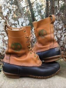 BOSTON CELTICS Authentic PLAYER OWNEDLLBean Maine Hunting Boots Mens size 12