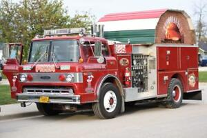 MOBILE BRICK-OVEN-PIZZA FIRE TRUCK WOOD-FIRED FOOD CONCESSION TRAILER BBQ SMOKER