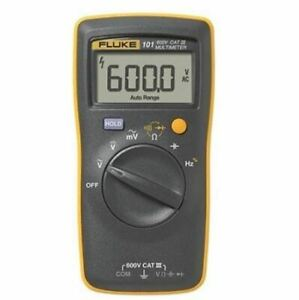 FLUKE 101 Basic Digital Multimeter Pocket Portable Meter AC DC Volt Tester $57.98