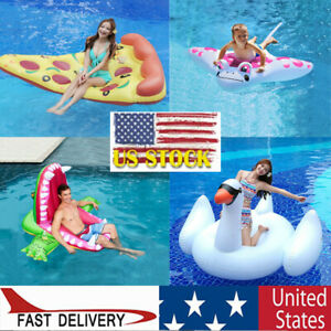 Giant Swimming Ring Floating Row Swan Crocodile Suitable For Children