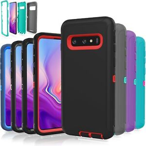 Samsung Galaxy S10  S10 Plus  S10E  5G Case Shockproof Hybrid Rugged Rubber