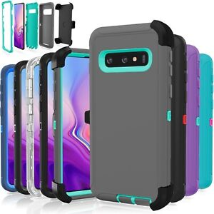 Samsung Galaxy S10  S10 Plus  S10E  5G Case Shockproof (fits Otterbox Clip)