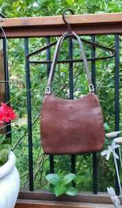 Vintage Mark Cross New York Leather Shoulder Bag