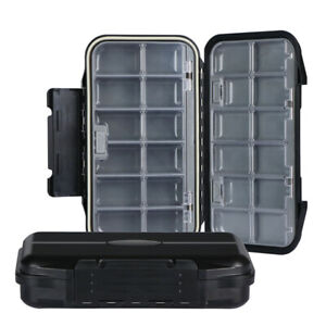 Fishing Box 24 Compartments Fishhook Bait Tackle Box Storage Case Container Box