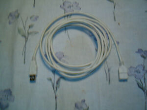 USB 2.0 AA EXTENTION CABLE 6 FEET LONG
