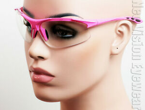 ERB Ella Hot Pink Clear Lens Safety Glasses Womens Motorcycle Z87 $10.54
