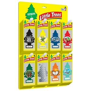 Choose Scent-Lot Of 2,6,10- Single Pack Little Tree Air Freshner Car Home Use