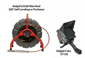 Ridgid 200' Mini Reel (48488) CS6x (57138)