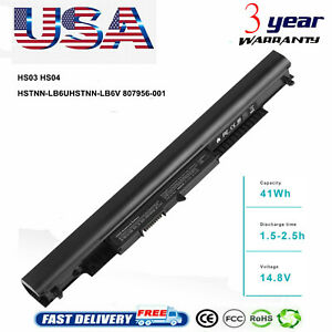 HS03 HS04 Rechargeable Battery for HP Spare 807957 001 807956 001 807612 421 $14.49