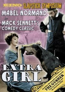 The Extra Girl 1923 DVD 2008 RARE BRAND NEW PLUS THE GUSHER 1913 FILM $24.95