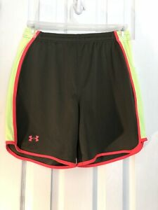 M131 Under Armour Mens shorts Sz S Small army olive green loose $16.95
