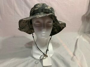 BRAND NEW MILITARY ISSUE DIGITAL ACU BOONIE SUN HATS CAP ALL SIZES