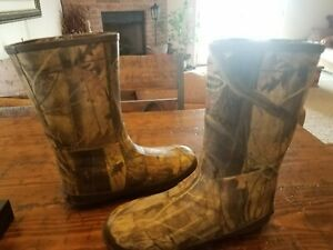 Lacrosse Youth Lil Burly Camo Boots 1000 gr thinsulate G1 Camo 266002 Size 5.