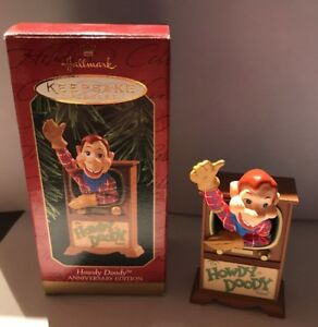 Hallmark Keepsake Ornament Howdy Doody TV Anniversary Edition Christmas BX-E