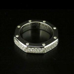 Audemars Piguet BG0702.BCP.60.Z White Gold Diamond Ring Size #60 Never Used