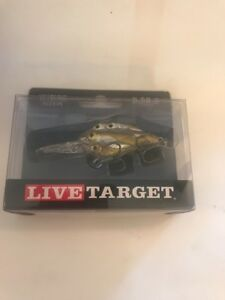Live Target Fishing Lure Yearling Baitball Crankbait Pearl Olive Shad YCB50M815