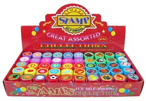 50 Pcs Assorted Stampers for Kids Birthday Party Favors