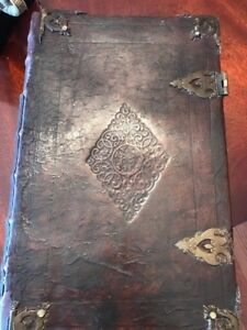 1708 BIBLE CASTLE WILLIAM PROVENANCE SIGNIFICANT PIECE OF OUR AMERICAN HISTORY