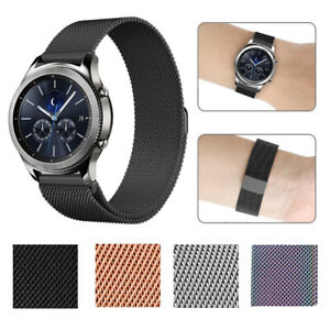 For Samsung Gear S2 / S3 Metal Watch Band Stainless Steel Bracelet Wristband