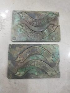 China bronze fish coin mould combined coin model money plate