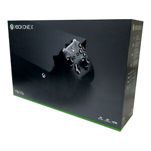 Xbox One X 1TB Console (Open Box - Damaged Retail Box) [Factory Refurbished]