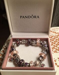 Full Authentic Pandora Charm Bracelet 8