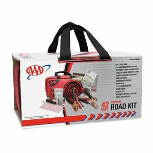 Emergency Road Assistance First Aid Kit Car Truck Auto Travel Trunk Jack Bag SUV