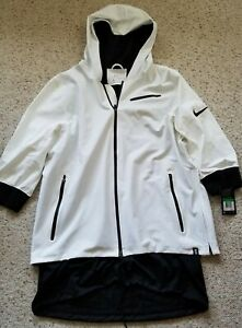 NWT Nike Men's Dri-Fit Kyrie MVP Jacket 830825-100 Size XL White Black $200