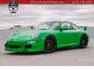 2008 911 S 997 6Sp PTS RS Green AeroKit 1of a Kind 997S PTS RS Green AeroKit 6 Speed You Gonna Freak Adap Sport Seats Champion F77