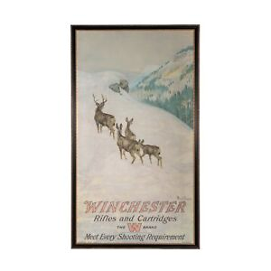 Winchester Advertising Poster 1912