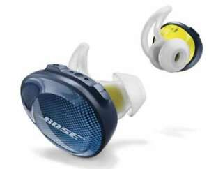 Bose SoundSport Free wireless headphones Midnight BlueYellow Citron from Japan