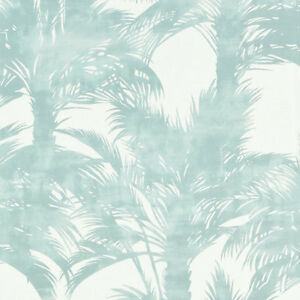 SCALAMANDRE EXOTIC TROPICAL CHIC LINEN PRINT  HOME DECOR FABRIC 5 YARDS SURF