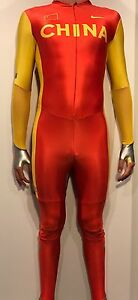 Nike PRO Full Body suit OLYMPICS running speedsuit track and field singlet China