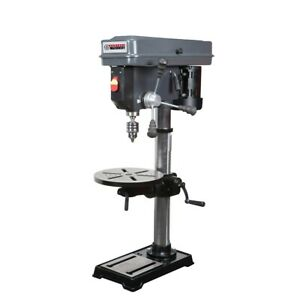 13 in. 16 Speed Bench Drill Press For Garage Work Shop Wood Work Home New
