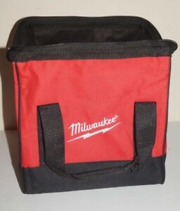 Milwaukee Heavy Duty Contractors Soft Side Water Resistant Tool Bag 11x10x12